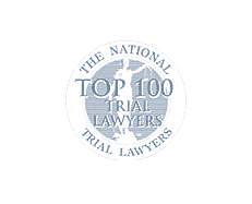 Rated as a top 100 trial lawyer by The National Trial Lawyers